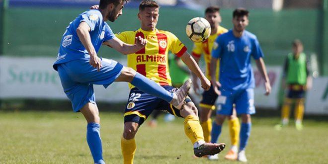Pandurii Târgu Jiu a pierdut meciul din etapa a 27-a cu Ripensia Timişoara, scor 2-1 pentru gazde