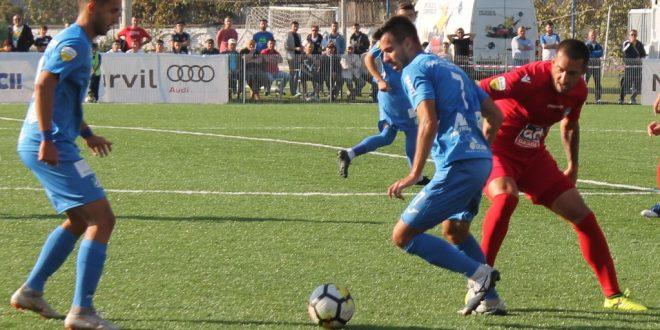 Pandurii Târgu Jiu a condus cu 2-0 la Snagov dar a pierdut meciul din etapa a 31-a, scor 3-2 pentru gazde