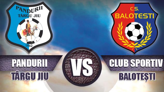 Biletele pentru meciul Pandurii Târgu Jiu – CS Baloteşti se pot procura vineri, cu începere de la ora 09:00