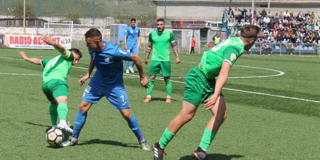 Pandurii Târgu Jiu s-a impus cu scorul de 4-0 în meciul cu CS Baloteşti din etapa a 32-a a Ligii a doua Casa Pariurilor