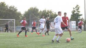 Antrenorul Adrian Bogoi a testat jucătorii aflaţi  în probe la Pandurii Târgu Jiu în meciul amical cu Tractorul Cetate