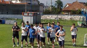 Pandurii Târgu Jiu s-a reunit la Târgu Jiu cu 24 de jucători la primul antrenament