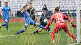 Pandurii Târgu Jiu a pierdut meciul din ultima etapă a acestui sezon, scor 2-0 pentru U Cluj