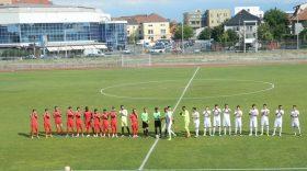 Pandurii Târgu Jiu a pierdut meciul amical cu FC Hermannstadt, scor 4-1 pentru gazde