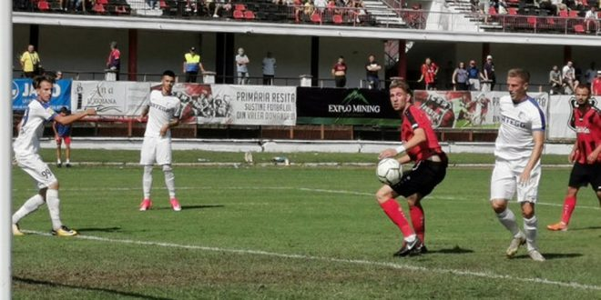 Pandurii Târgu Jiu a pierdut meciul din etapa a treia a Ligii a doua Casa Pariurilor, scor 3-1 pentru CSM Reşiţa