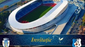 Programul manifestărilor prilejuite de inaugurarea  Stadionului Municipal  din Târgu Jiu