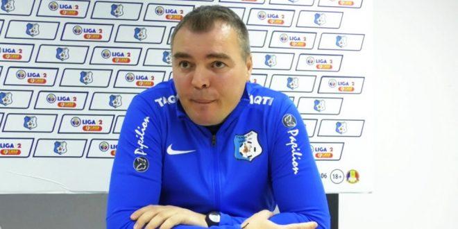"""ETAPA 7 / Viitorul Șimian – PANDURII: Călin Cojocaru: """"Va fi un meci dificil, dar mergem la Severin să câștigăm"""""""