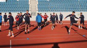 Antrenorul Călin Cojocaru a avut 23 de jucători la primul antrenament al echipei Pandurii Târgu Jiu din acest an