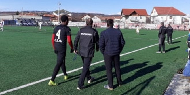 Pandurii Târgu Jiu a pierdut meciul amical cu Viitorul Dăeşti, scor 1-2