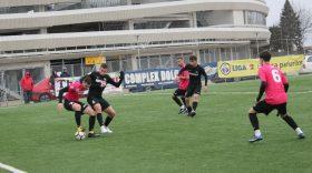 Pandurii Târgu Jiu a încheiat la egalitate meciul amical cu selecţionata All Stars Dolce Vita, scor 1-1