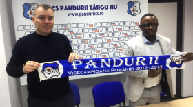 Jean-Willy Ngoma a fost numit director de scouting la Pandurii Târgu Jiu