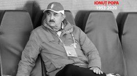 Clubul Pandurii Târgu Jiu deplânge trecerea în nefiinţă a unui mare antrenor, Ionuţ Popa, plecat prea devreme de pe scena fotbalului