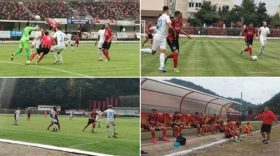 Pandurii Târgu Jiu a disputat astăzi, la Reşiţa, cel de-al patrulea meci amical din perioada de vară