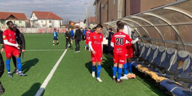 MECI AMIAL / Pandurii Târgu Jiu a remizat în meciul amical disputat cu Viitorul Dăeşti, scor 1-1