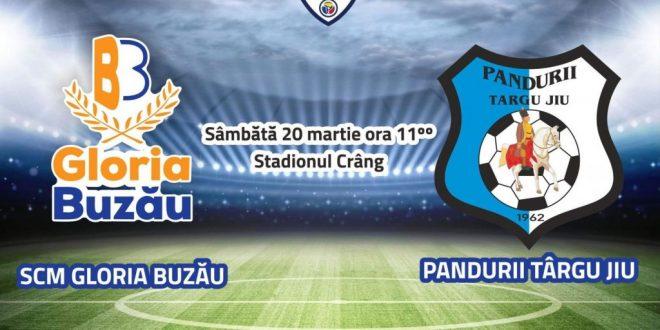 COMUNICAT DE PRESĂ / Clubul Pandurii Târgu Jiu a pus în vânzare bilete virtuale pe platforma www.bilete.ro pentru meciul Gloria Buzău – Pandurii Târgu Jiu