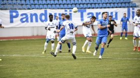 AMICAL / Pandurii Târgu Jiu a pierdut meciul amical cu CS Hunedoara