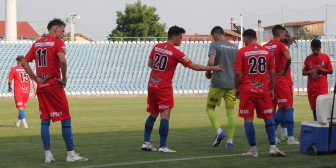 AMICAL / Pandurii Târgu Jiu s-a impus în meciul amical cu Flacăra Horezu