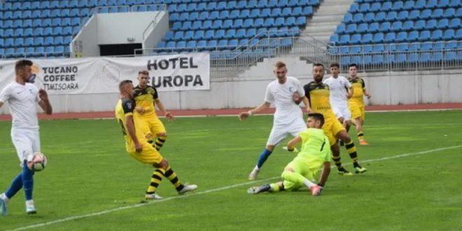 VICTORIE / Pandurii Târgu Jiu a câştigat cu scorul de 2-0 meciul din etapa a 6-a cu Armata Aurul Brad